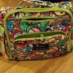 Tokidoki Ju Ju Be diaper bag BFF